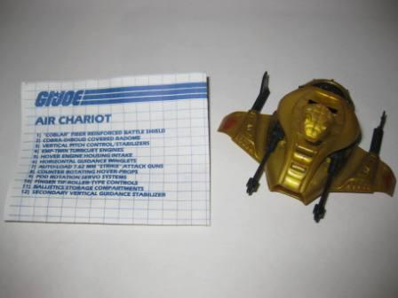 Air Chariot (1986) w/ Inst - G.I. Joe